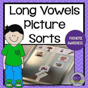 Picture Sorts Long Vowels