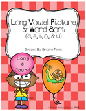 Long Vowel Picture & Word Sort Bundle