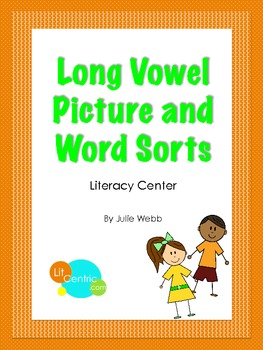 Long Vowel Picture and Word Sorts