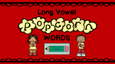 Long Vowel Popcorn Word Sort
