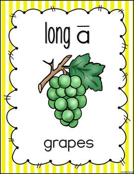 Long Vowel Poster Bundle