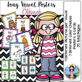 Long Vowel Posters (chevron)