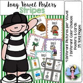 Long Vowel Posters (stripes)