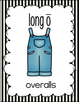 Long Vowel Posters (stripes)