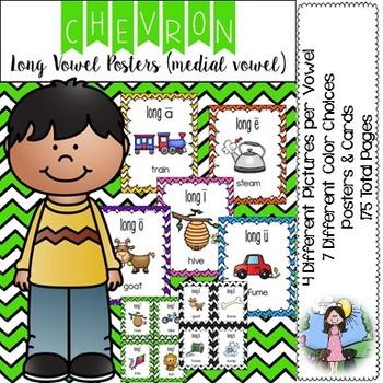 Long Vowel Posters_Medial Vowel Sound (chevron)