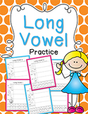 Long Vowel Practice {Click File, Print}