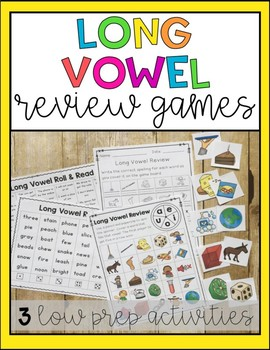Long Vowel Practice Games