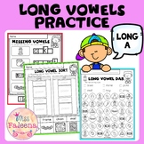 Long Vowel Practice - Long A