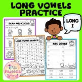 Long Vowel Practice - Long I