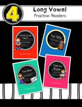 Long Vowel Practice Readers