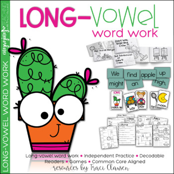 Reading Vowels & Phonics Activities and Games - Long Vowel Practice and Review