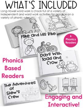 Long Vowel Activities - Phonics Activities and Games - Long Vowel Word Work