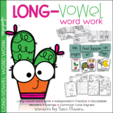 Long Vowels - Reading & Phonics - Word Work - Activities a