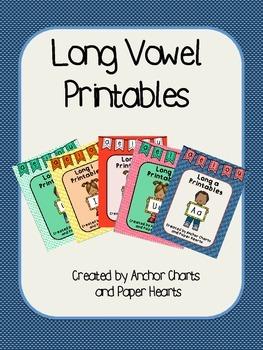 Long Vowel Printables