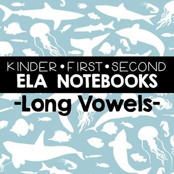 Literacy Journals: Long Vowel Printables
