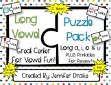Long Vowel Puzzle Pack for all 4 Long Vowels ~84 Puzzles~ PLUS Printables!