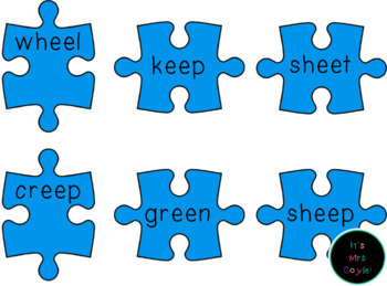 Long Vowel Puzzles E