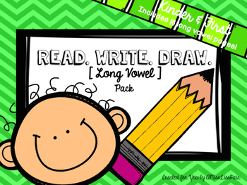 {Read. Write. Draw.} / long vowel edition /