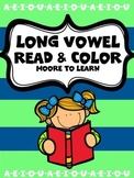 Long Vowel Read and Color