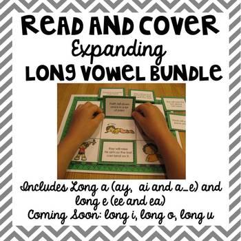 Long Vowel Read and Cover {Expanding Bundle}