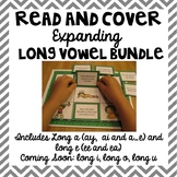 Long Vowel Read and Cover {Expanding Bundle}