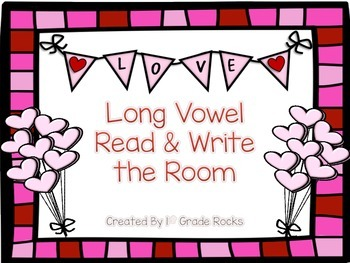 Long Vowel Read and Write the Room