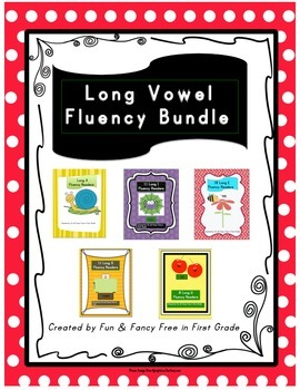 Long Vowel Readers Bundle