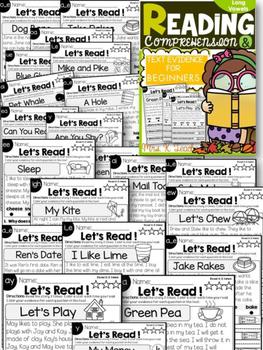 Long Vowel Readers Freebie Preview