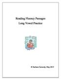 Long Vowel Reading Fluency Practice