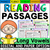 Long Vowel Reading Passages LEVEL 2 - Distance Learning