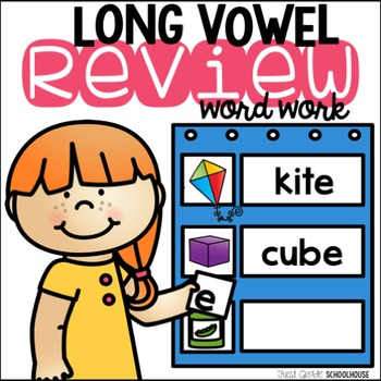 Long Vowel Review Word Work CVCe Words
