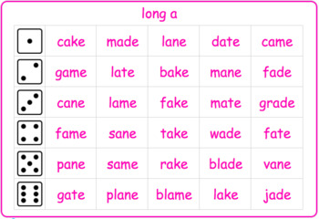 Long Vowel Roll and Reads