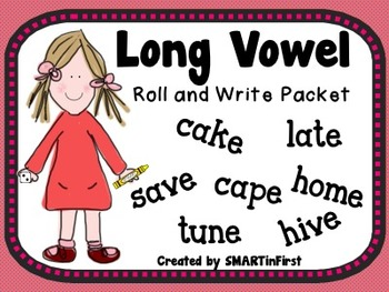 Long Vowel Roll and Write Packet