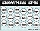 Long Vowel SNOWMAN Spinner Game