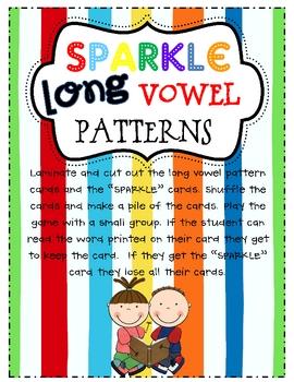 Long Vowel SPARKLE Game