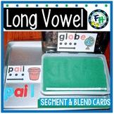 Long Vowel Segment & Blend Cards