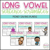 Long Vowel Sentence Scrambles BUNDLE
