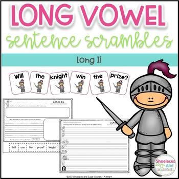 Long Vowel Sentence Scrambles - Ii