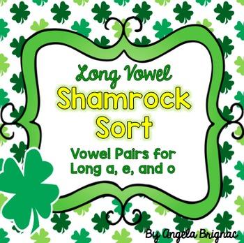 Long Vowel Shamrock Sort