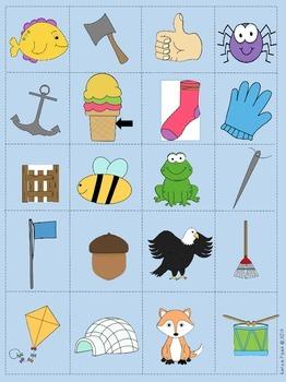 Long Vowel Short Vowel Partner Game, Picture Sort and Word Sort