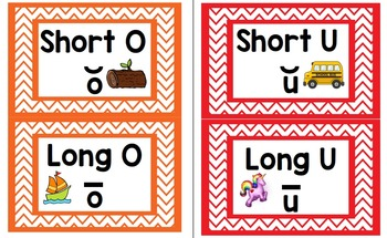 Long Vowel & Short Vowel Sort