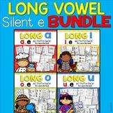 Long Vowel Silent E Activity Pack BUNDLE
