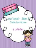 Long Vowel - Silent E Color-By-Picture Bundle! {8 activities}