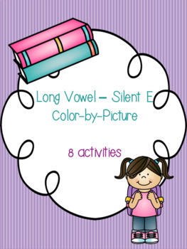 Long Vowel - Silent E Color-By-Picture Bundle! {8 activities}