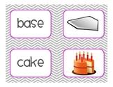 Long Vowel Silent E Picture Match - Long 'a' Set