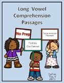Long Vowel / Silent E Reading Comprehension Passages and Q