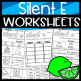 Long Vowel Silent E Worksheets