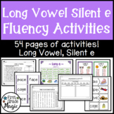 Long Vowel Silent e Fluency Activities