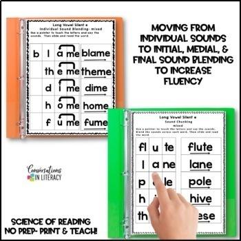Reading Intervention Binder: Long Vowel Silent e