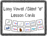 "Long Vowel/ Silent ""e"" Lesson Cards"
